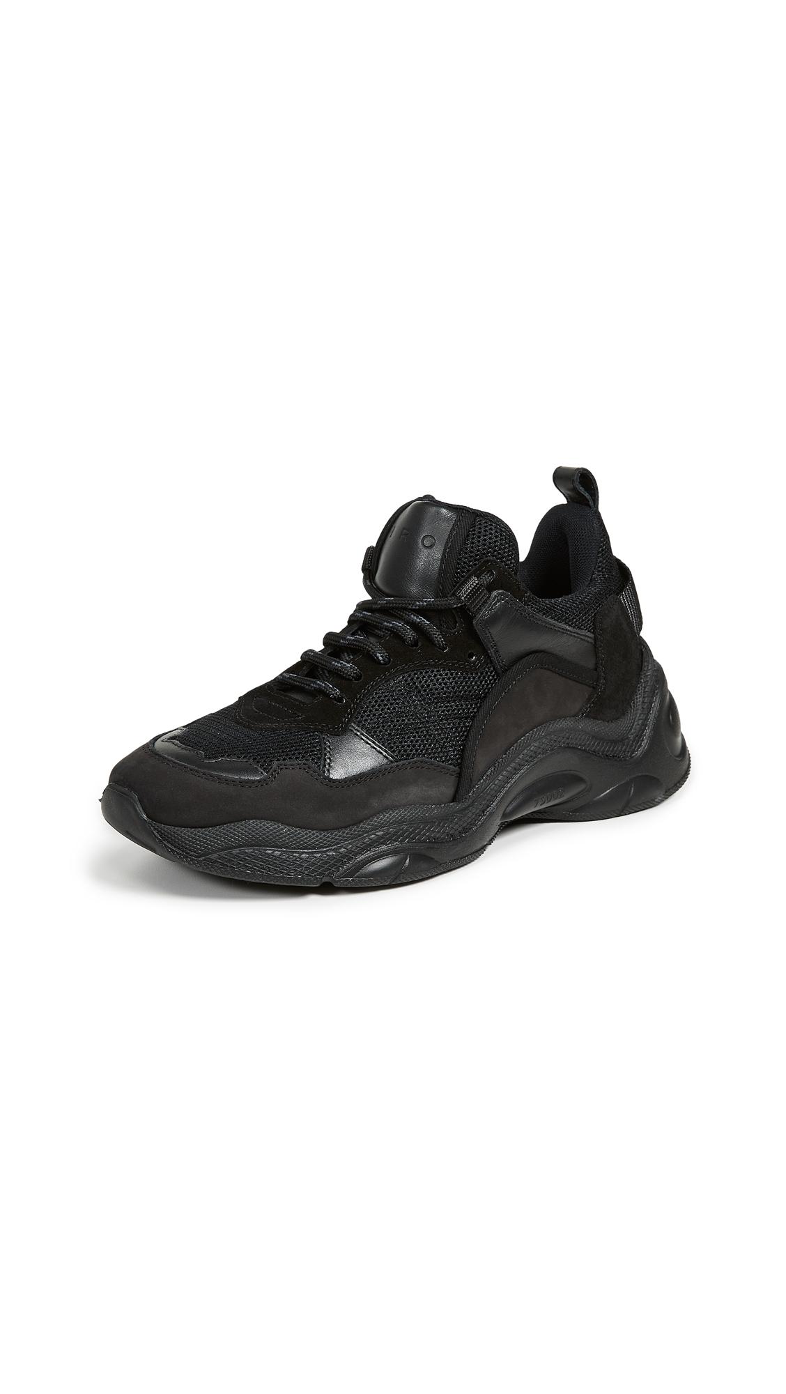 IRO Curverunner Sneakers - Black
