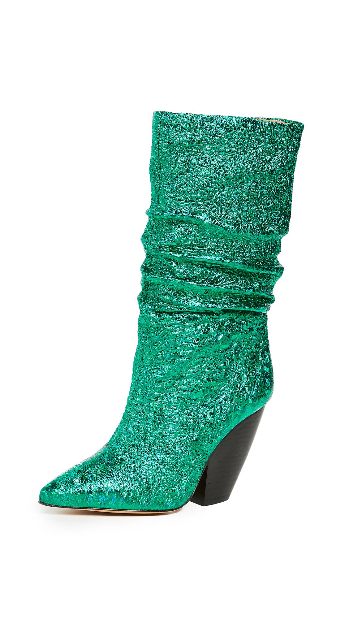 IRO Elektric Boots - Emerald