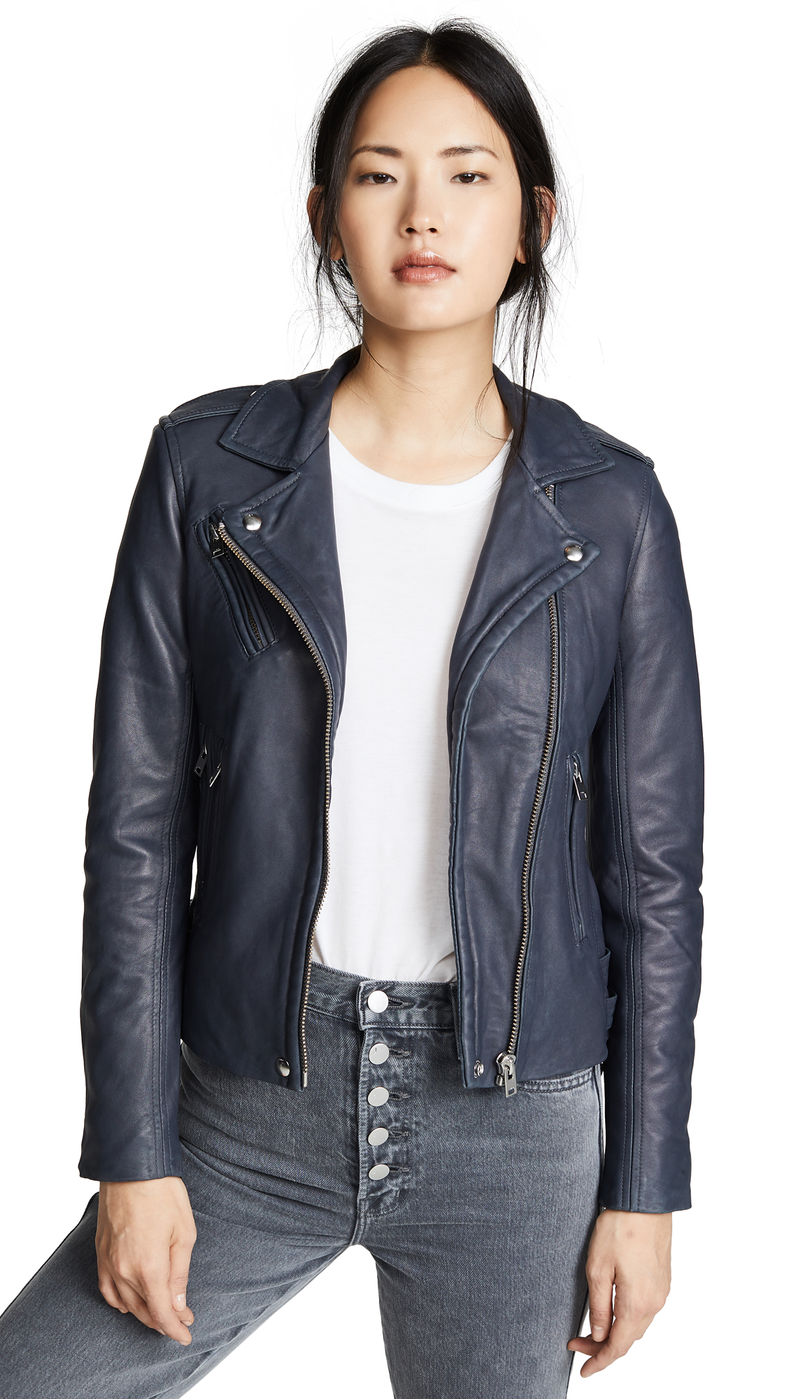 IRO Han Jacket In Grey Denim