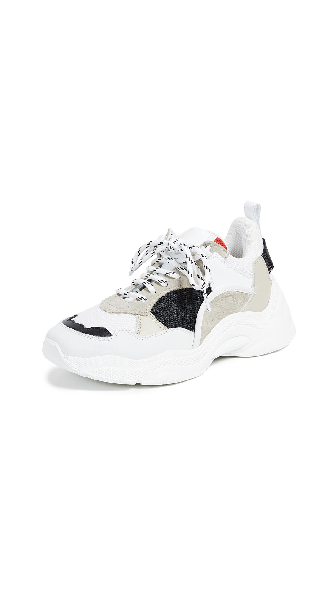 IRO Curverunner Sneakers - Beige/Black
