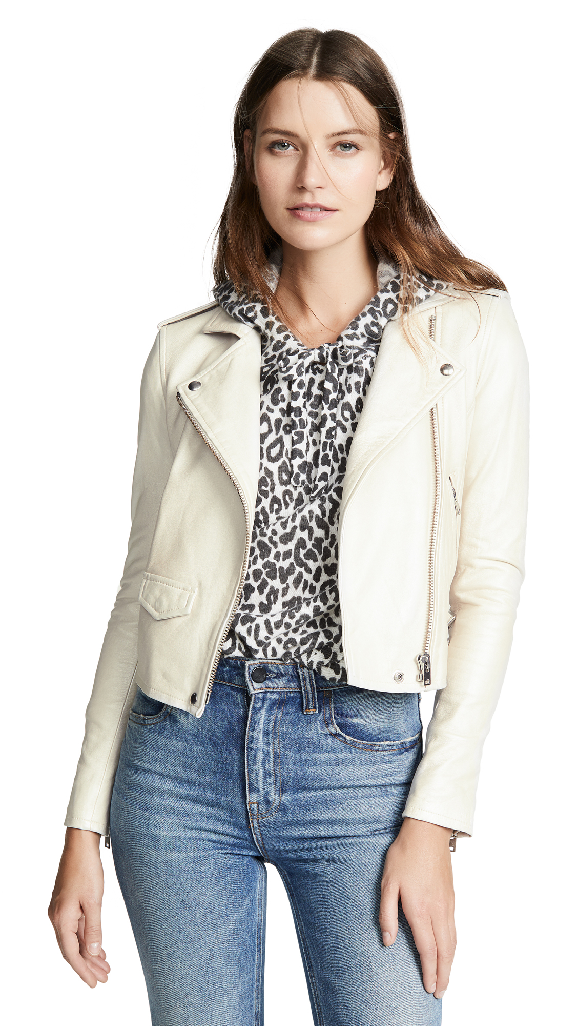 Ashville Jacket in Pearly White