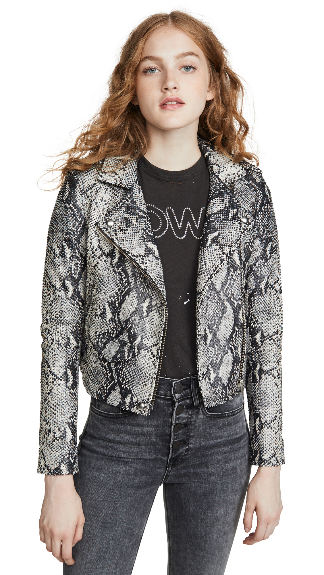 Buy IRO online - photo of IRO Ashville Printed Jacket