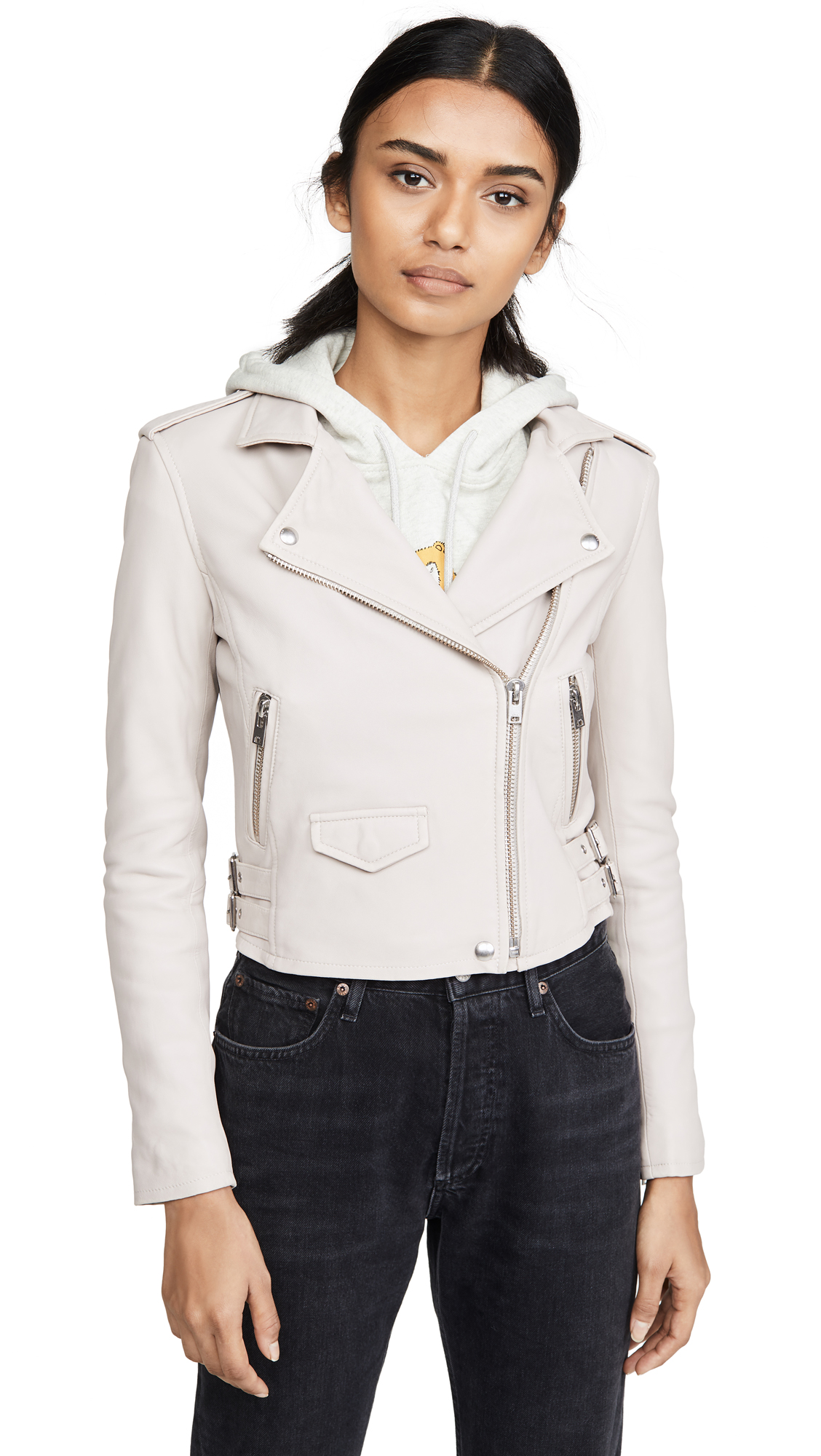 Buy IRO online - photo of IRO Ashville Leather Jacket