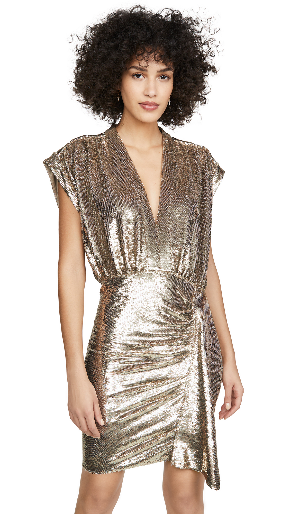 Buy IRO online - photo of IRO Sequin Sagria Dress