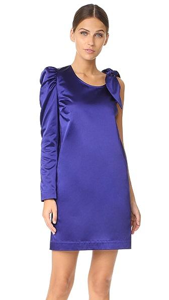 Isa Arfen One Sleeve Knot Dress - Purple Rain