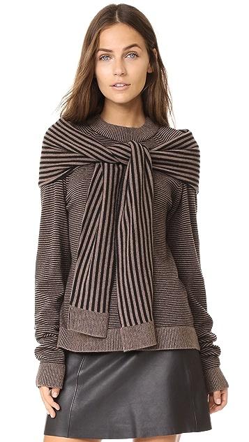 Isa Arfen Sweater with Tie