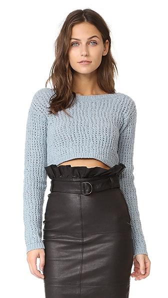 Isa Arfen Clochard Sweater In Powder Blue