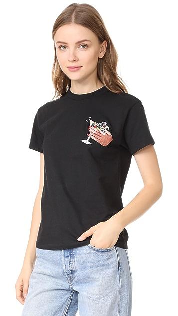 Isa Arfen Embroidered T-Shirt