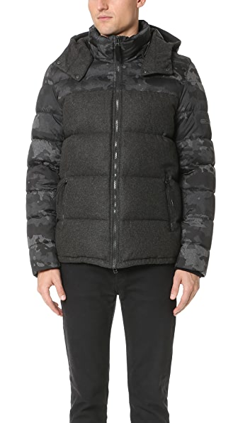 Isaora Combo Down Jacket