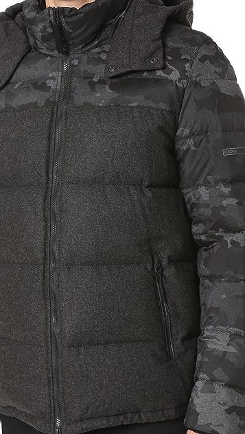 Isaora Combo Down Jacket