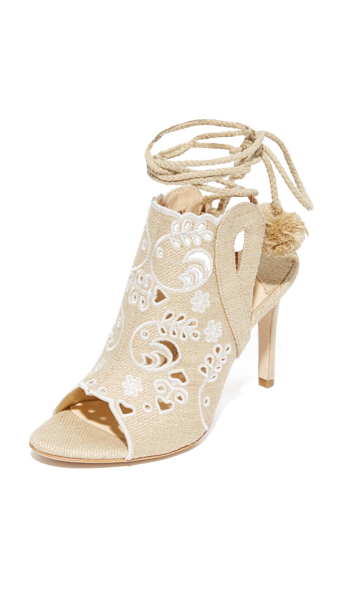 Isa Tapia Fox Glove Open Toe Sandals