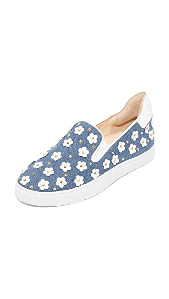 Isa Tapia Taylor Slip On Sneakers - Blue