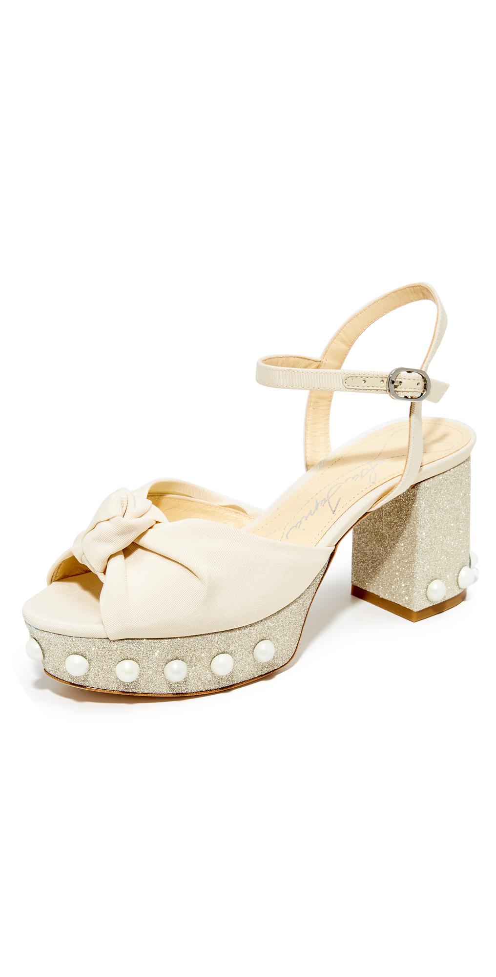 Marabella Platform Sandals Isa Tapia