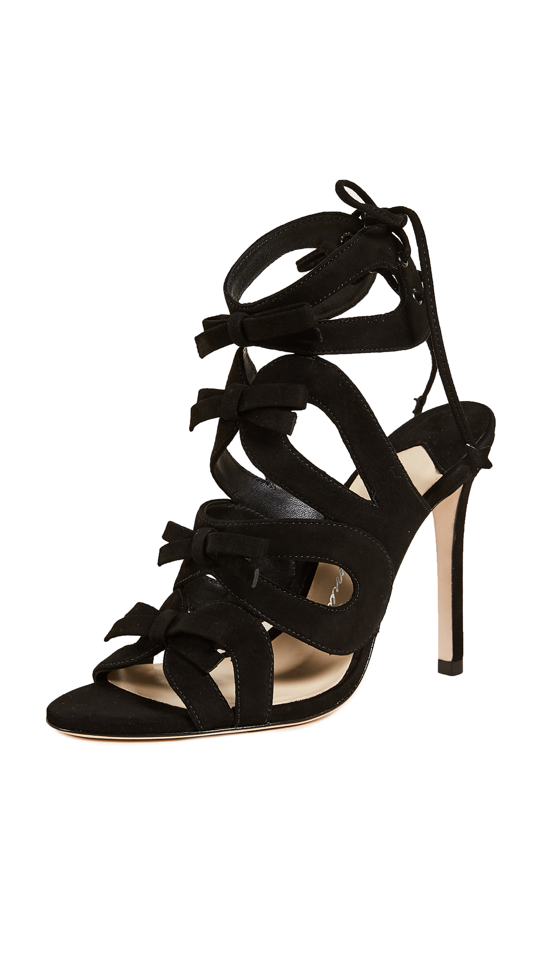 Isa Tapia Wes Sandal Pumps - Black