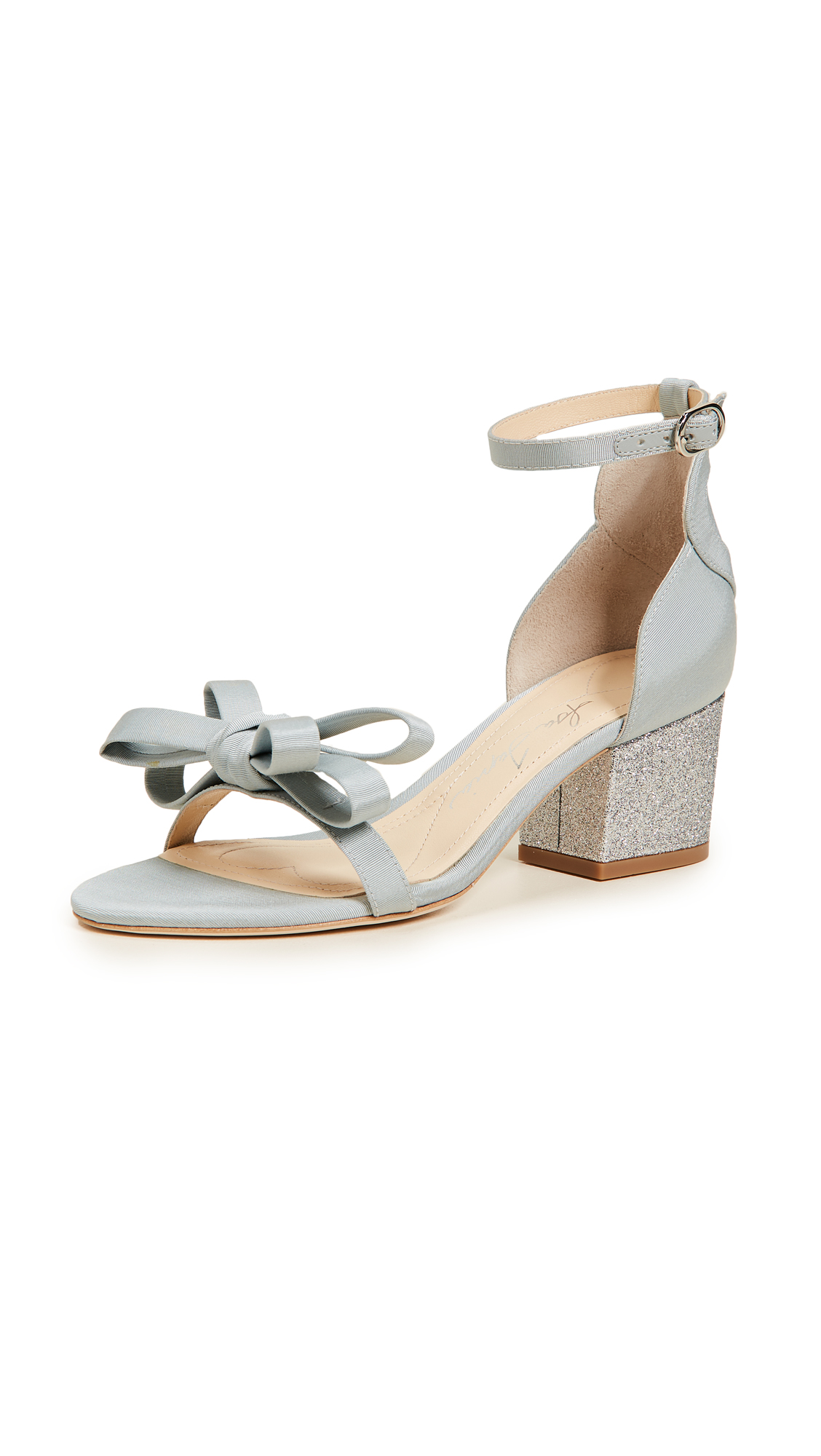 Isa Tapia Charlotte Sandals - Something Blue/Silver