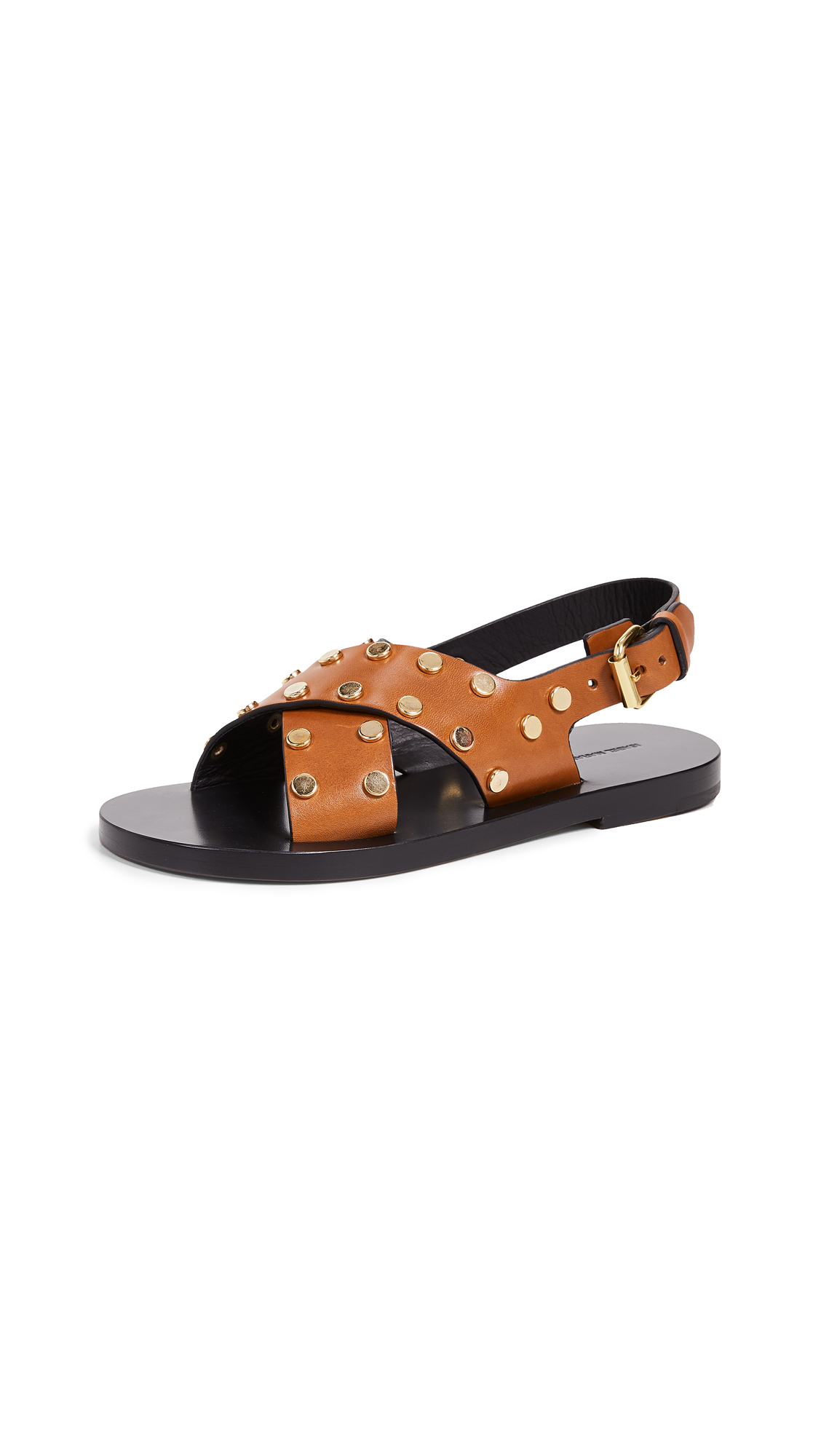 Isabel Marant Jane Sandals - Cognac
