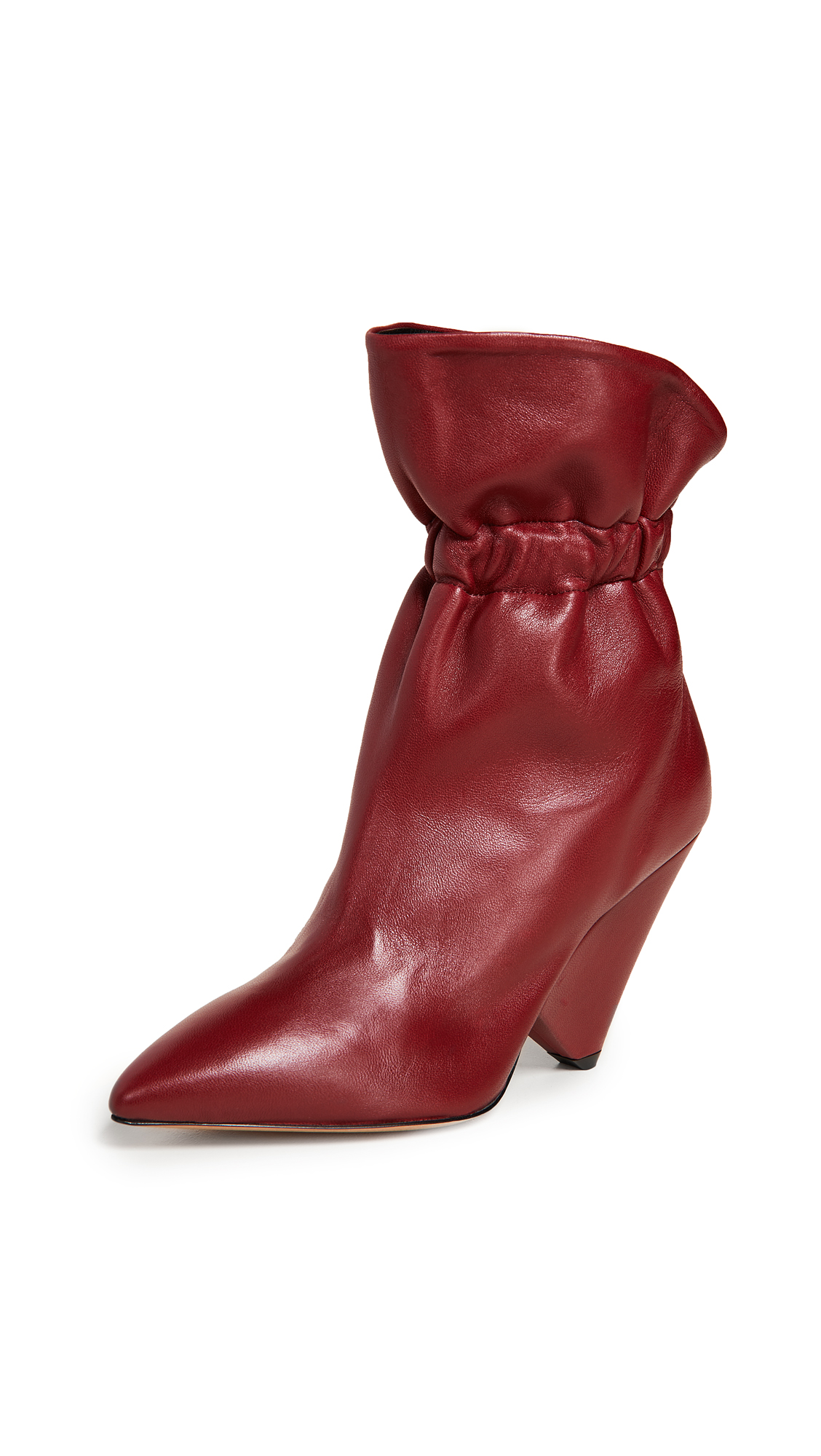Isabel Marant Lileas Boots - Burgundy