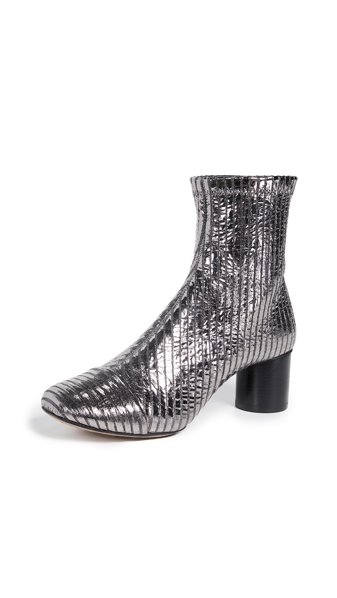 Isabel Marant Datsy Booties - Silver