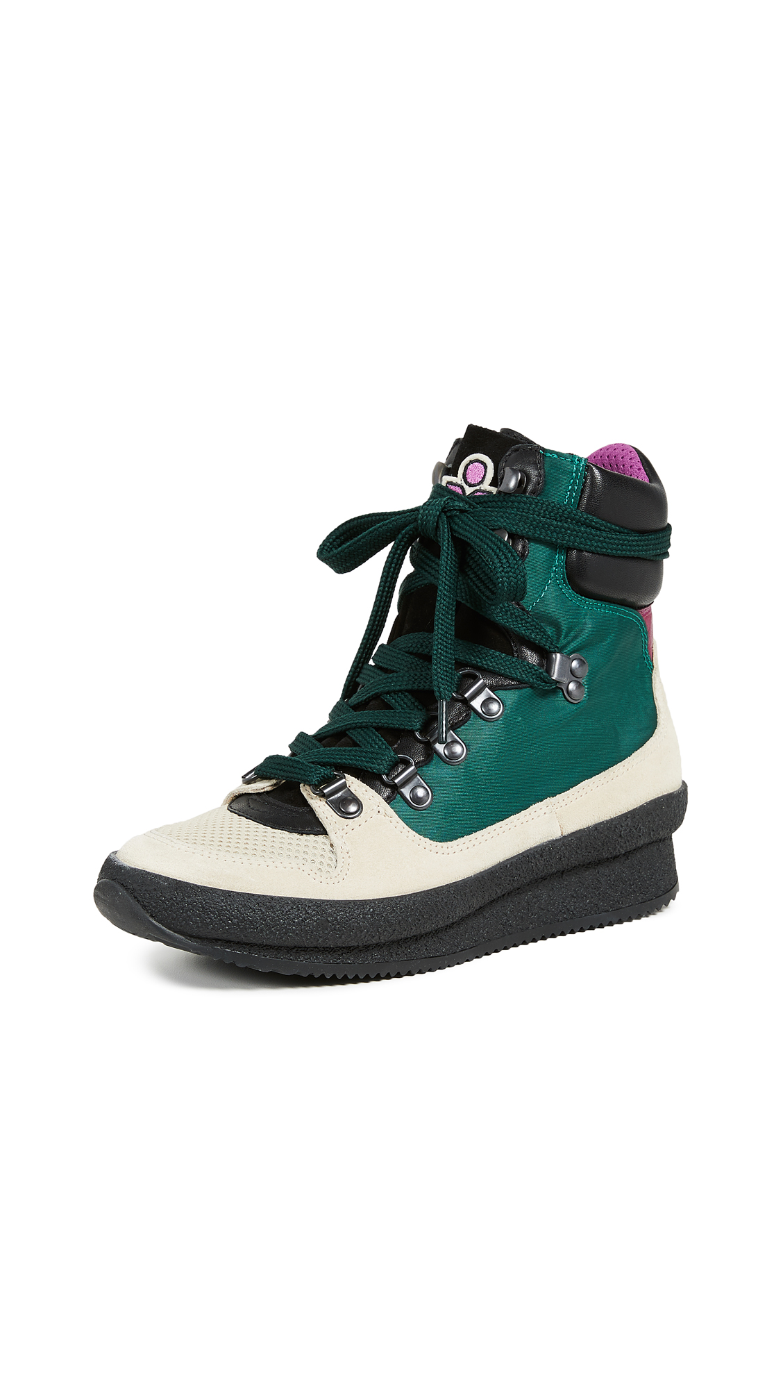 Isabel Marant Brendta Sneakers In Green