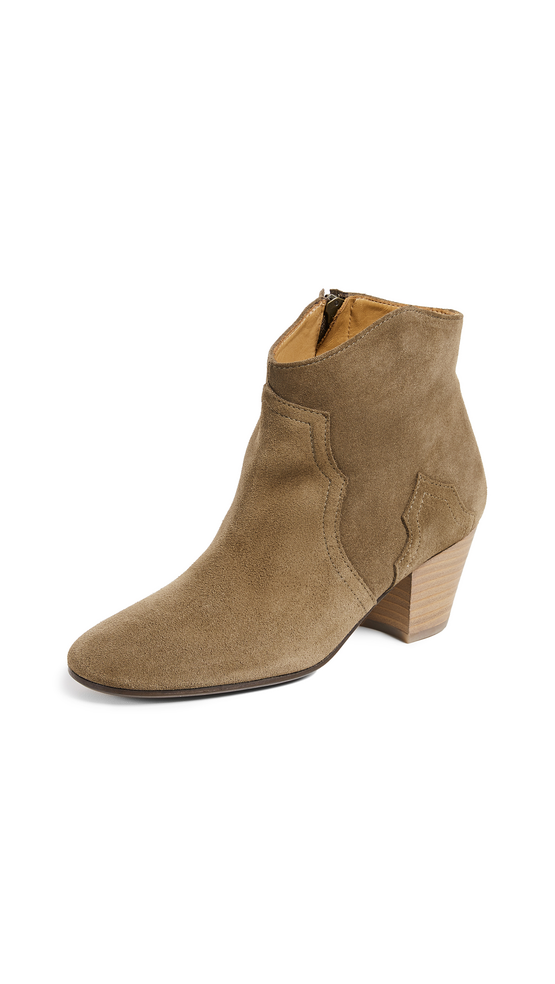 Isabel Marant Dicker Booties - Brown