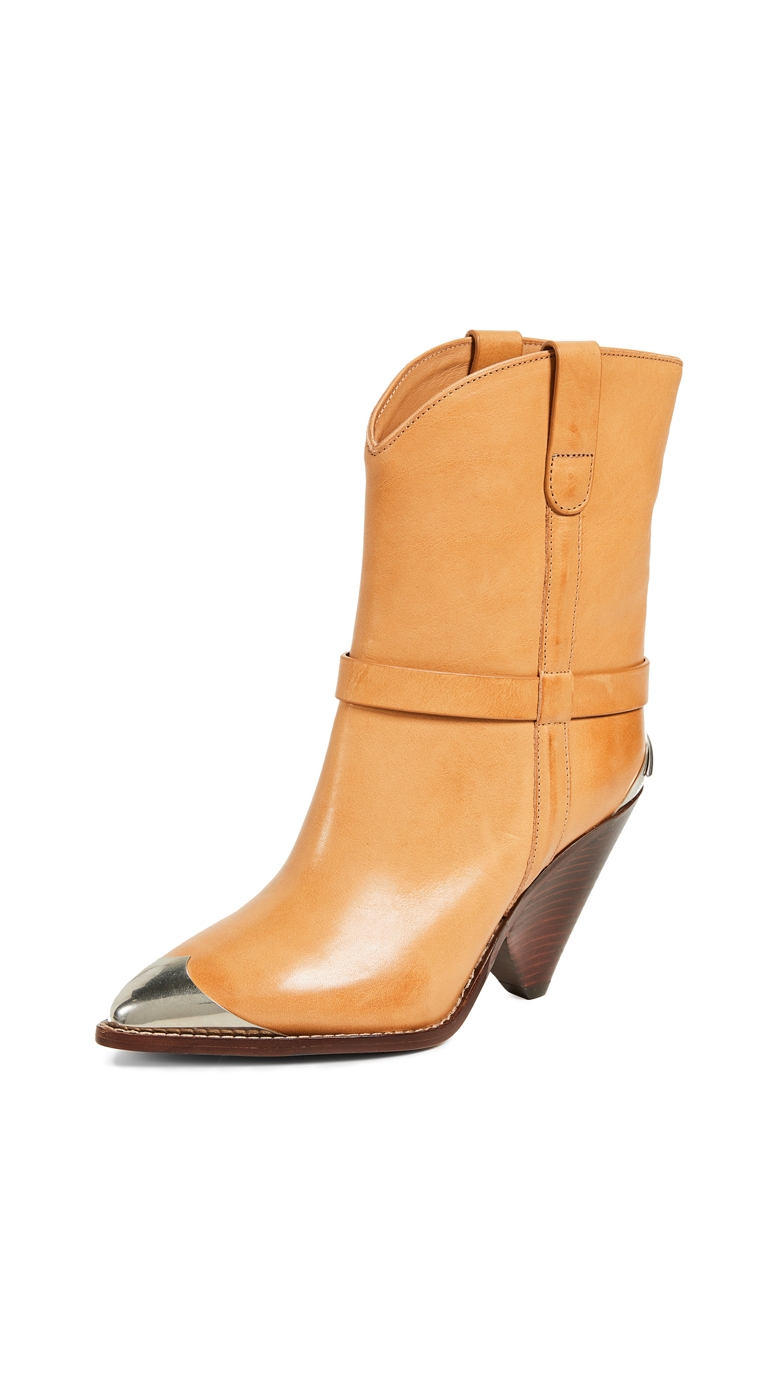 Isabel Marant Lamsy Boots - Natural