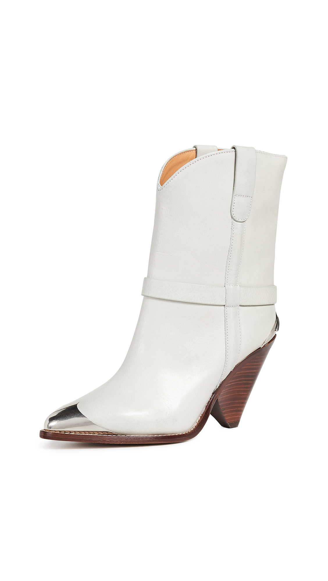 Isabel Marant Lamsy Boots - Chalk