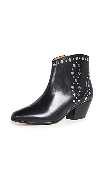 Photo of  Isabel Marant Dacken Booties- shop Isabel Marant Boots, Flat online sales