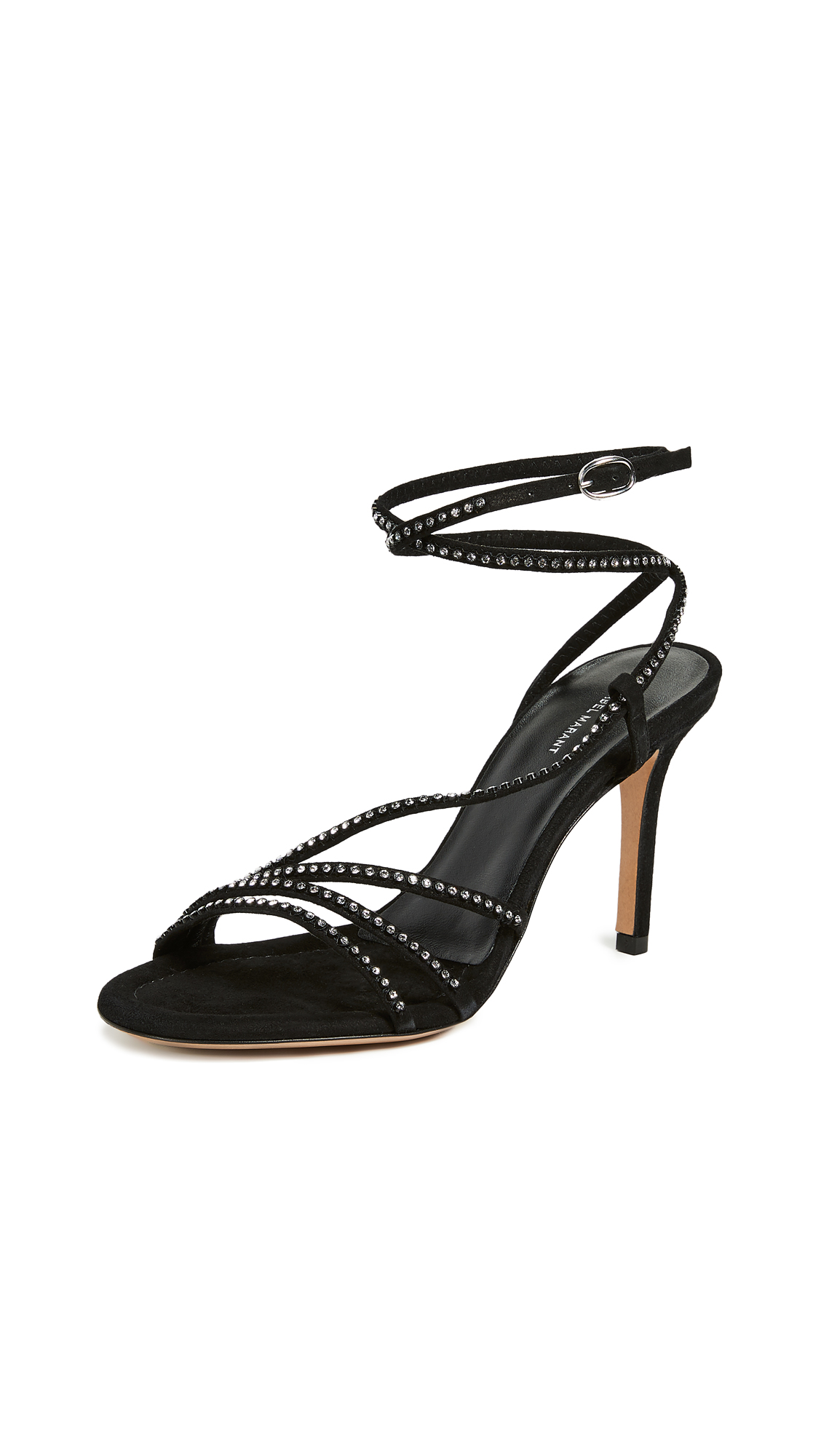 Isabel Marant Amspee Sandals - Black