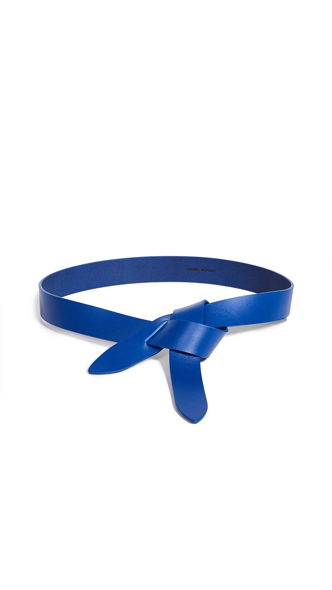 Isabel Marant Lecce Belt - Electric Blue