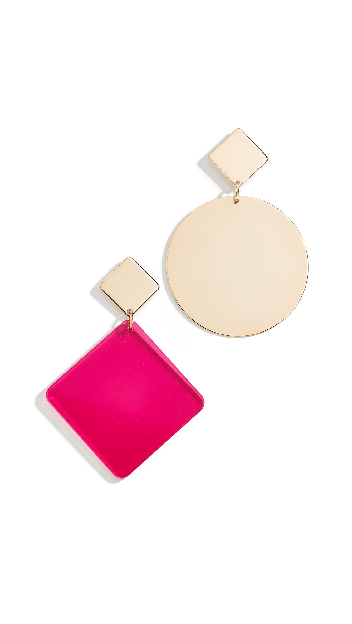 Isabel Marant Boucle Oreill Earrings - Fuchsia