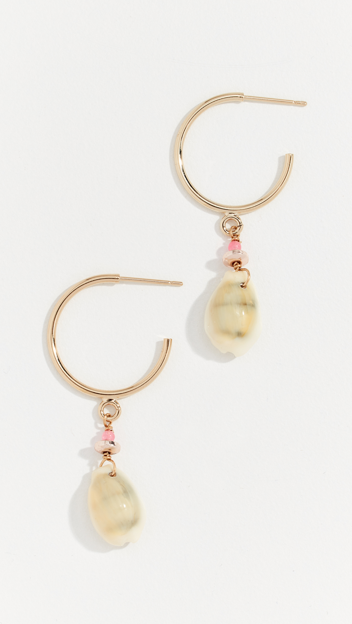24511666d8a Isabel Marant Boucle Shell Hoop Earrings | SHOPBOP