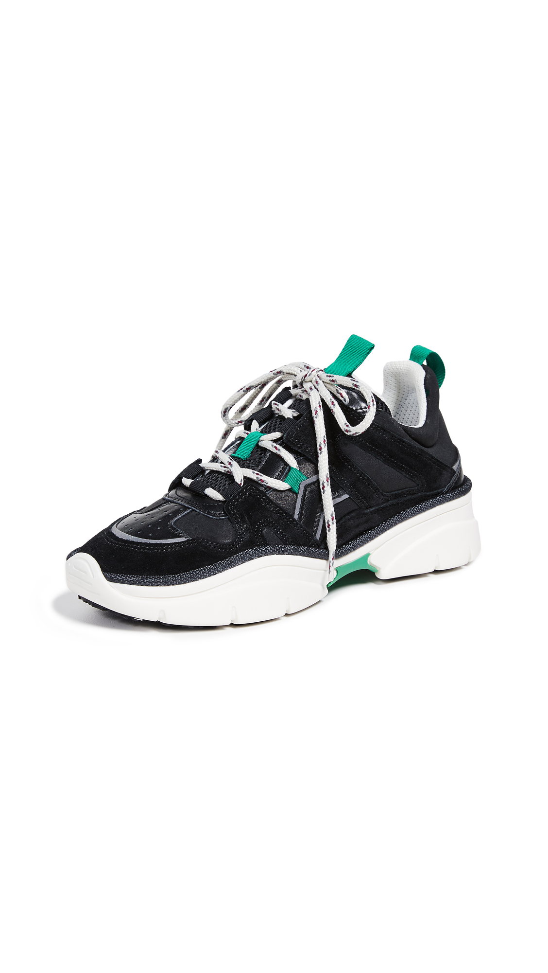 Isabel Marant Kindsay Sneakers - Black