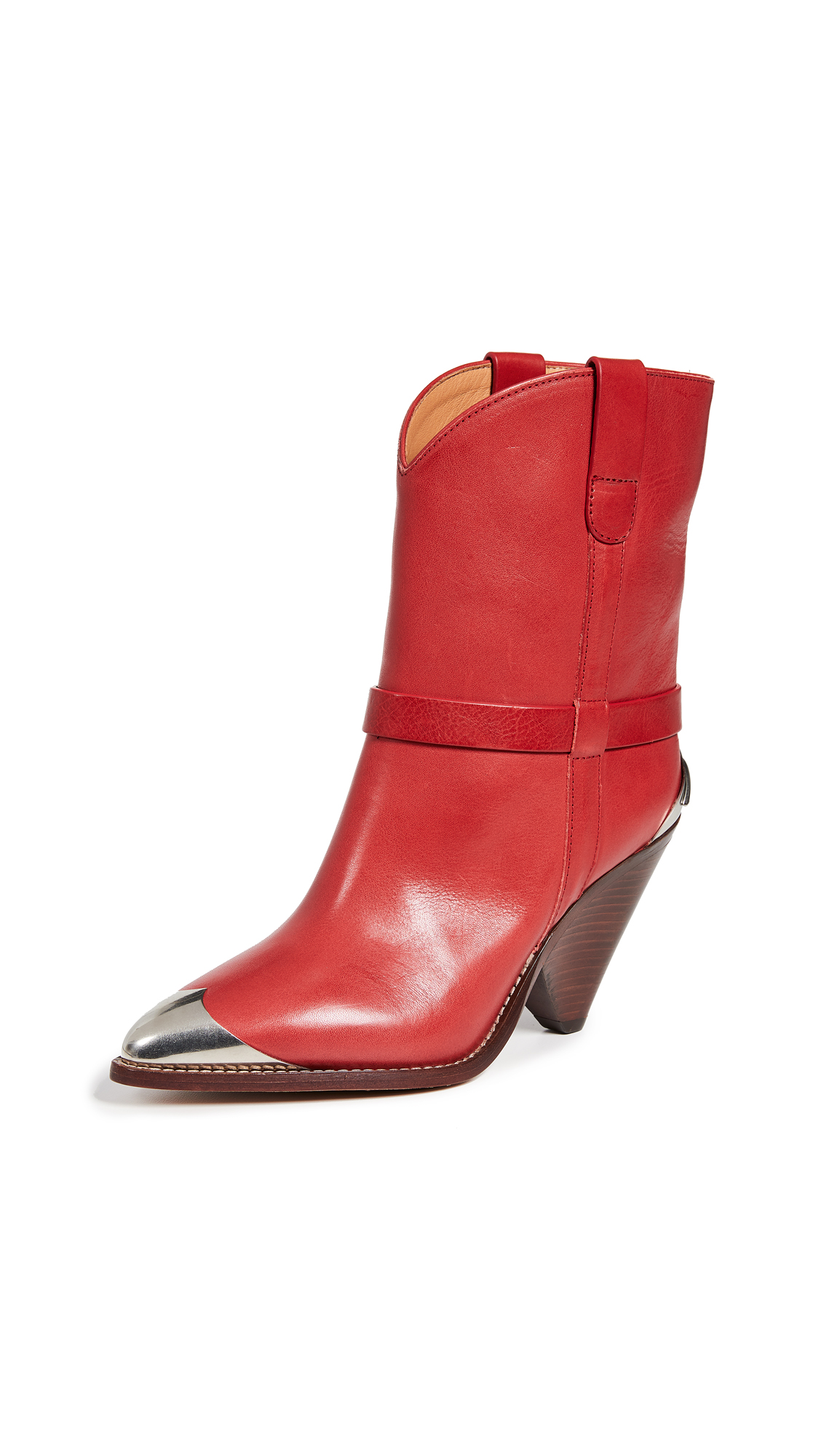 Isabel Marant Lamsy Boots - Red