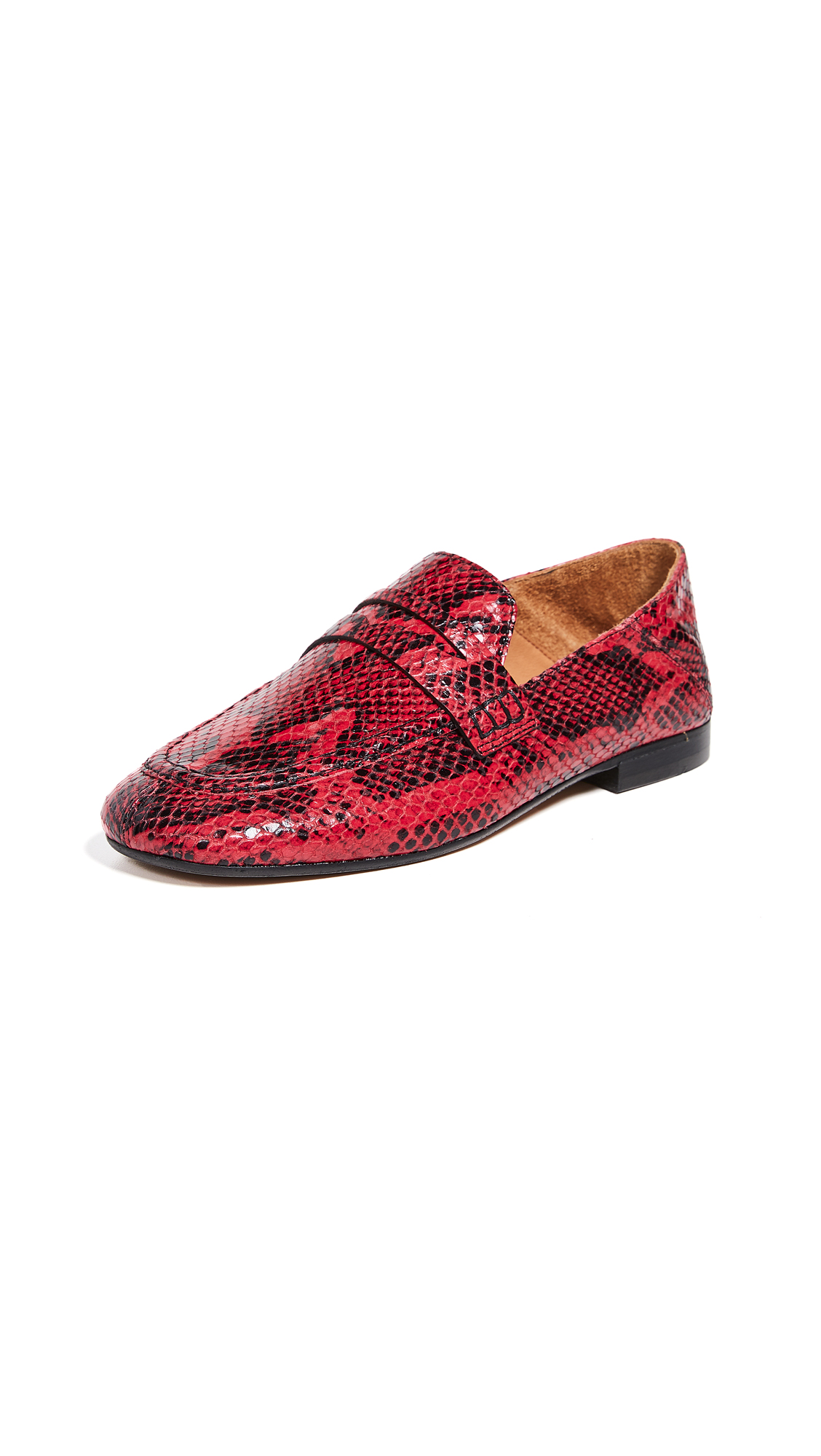 Isabel Marant Fezzy Convertible Loafers - Red