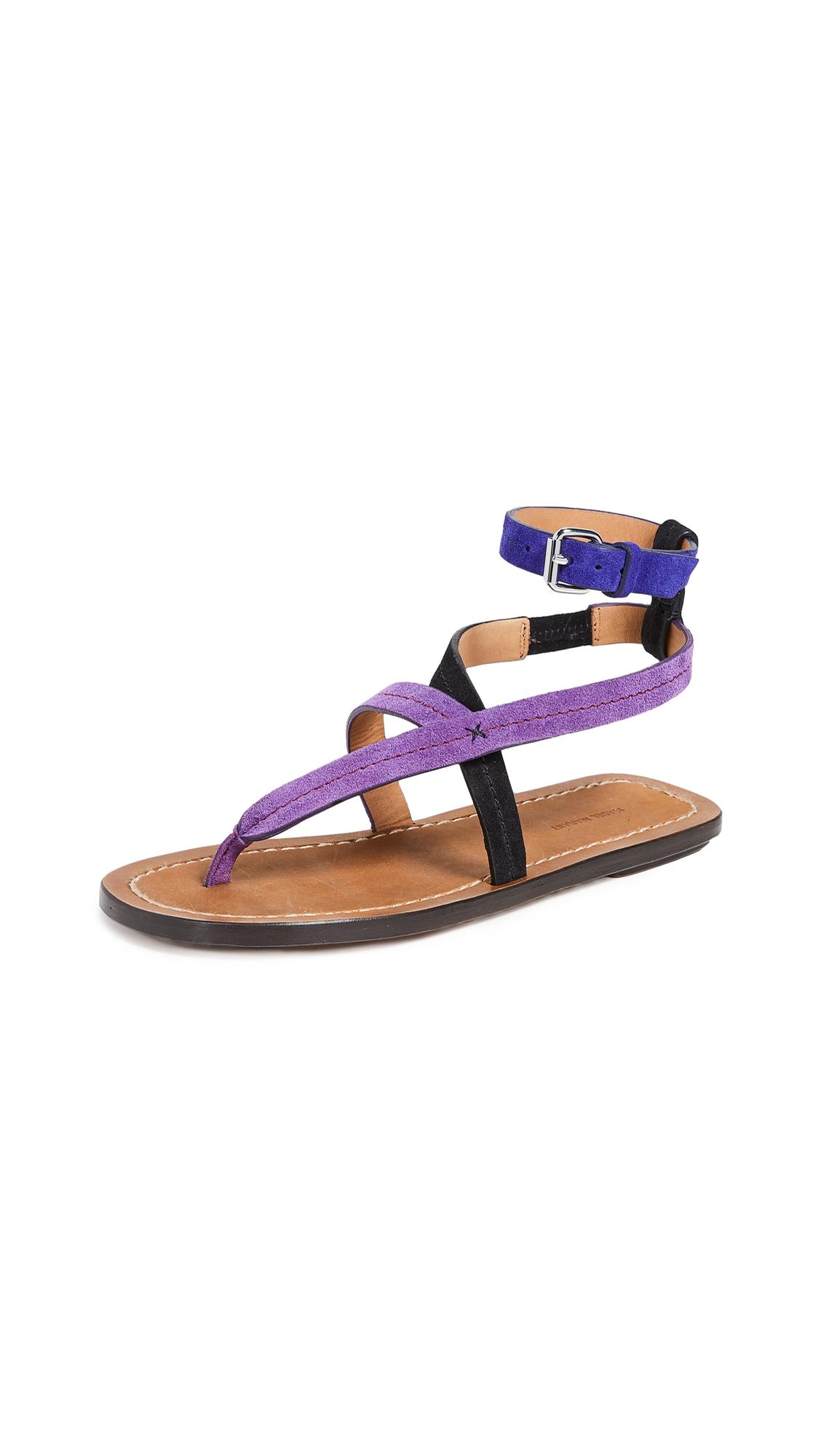 Isabel Marant Jookee Sandals - Purple
