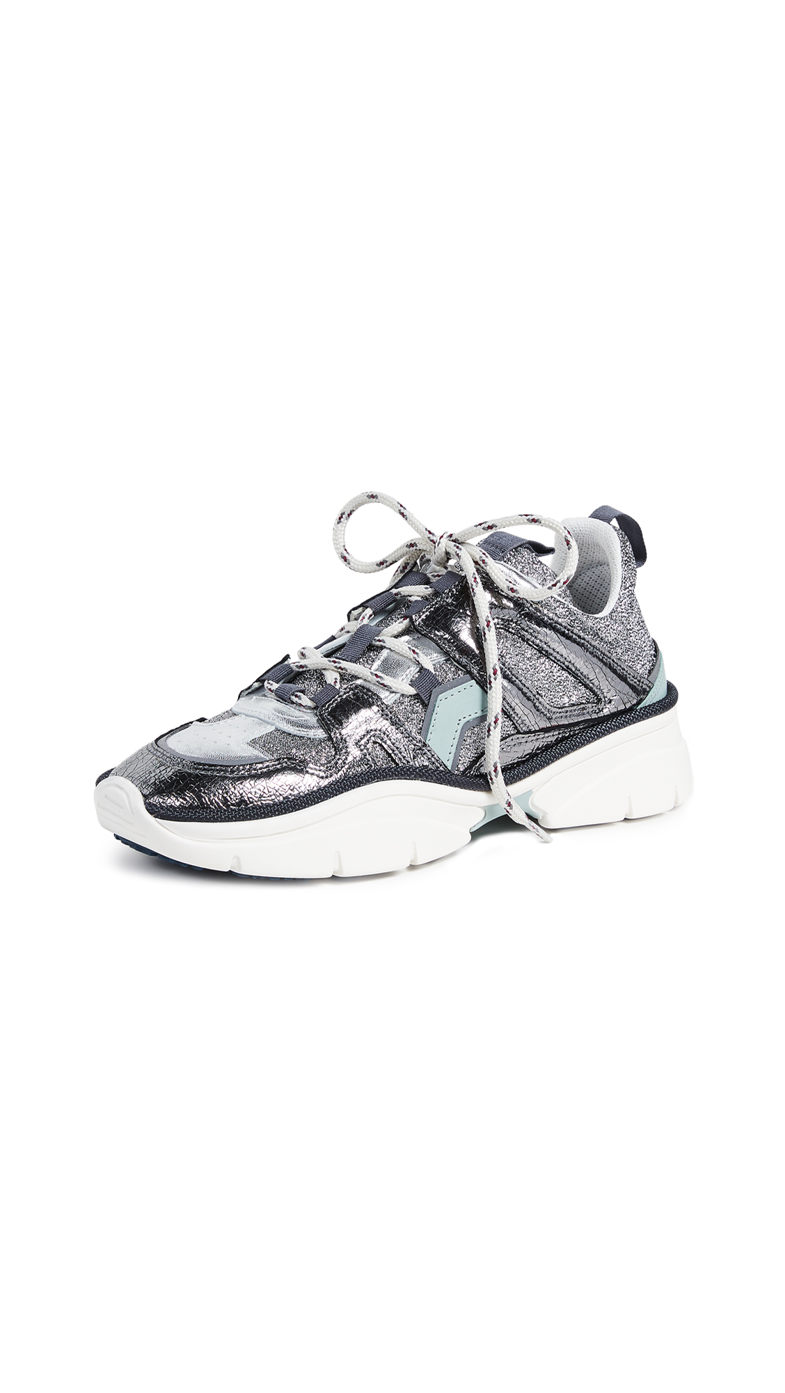 Isabel Marant Kindsay Sneakers - Silver