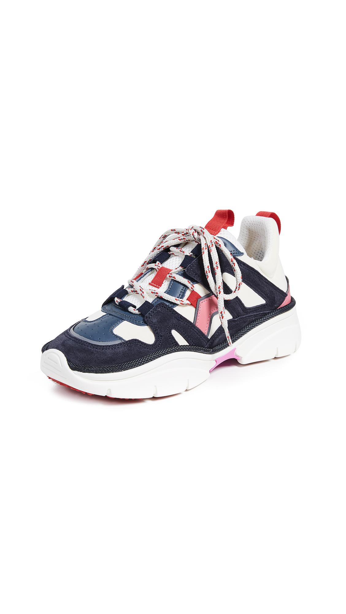 Isabel Marant Kindsay Sneakers - Ecru Blue