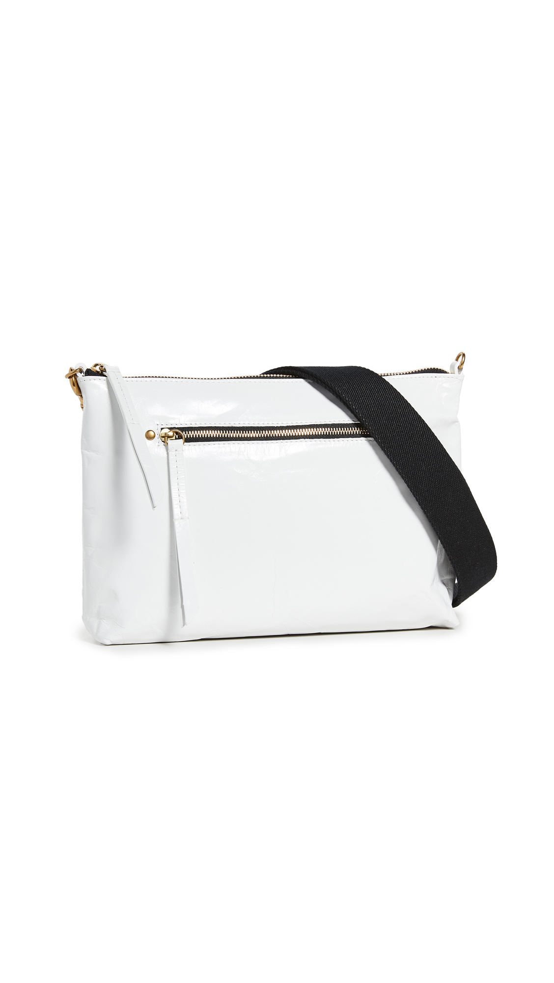 Isabel Marant Nessah Bandouliere Shoulder Bag In White