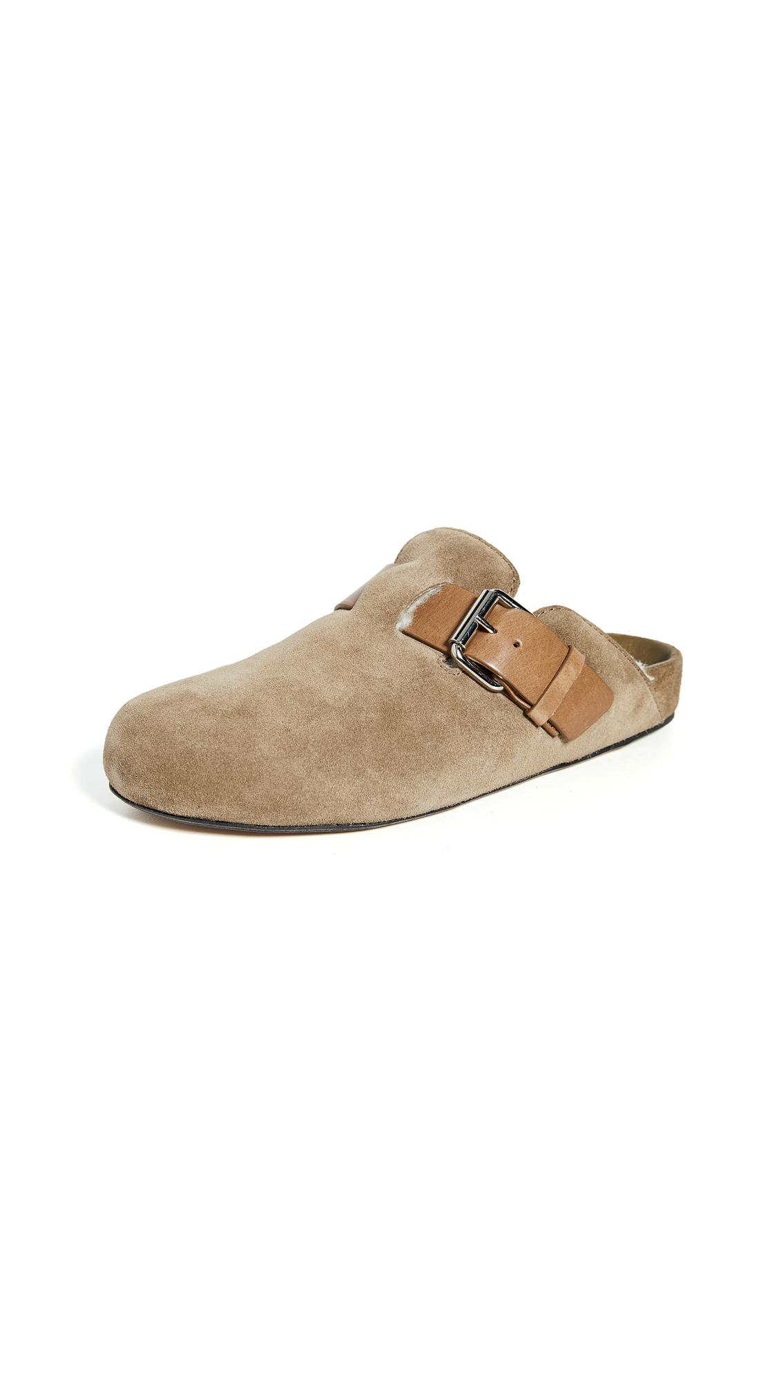 Buy Isabel Marant online - photo of Isabel Marant Mirvin Shearling Slides