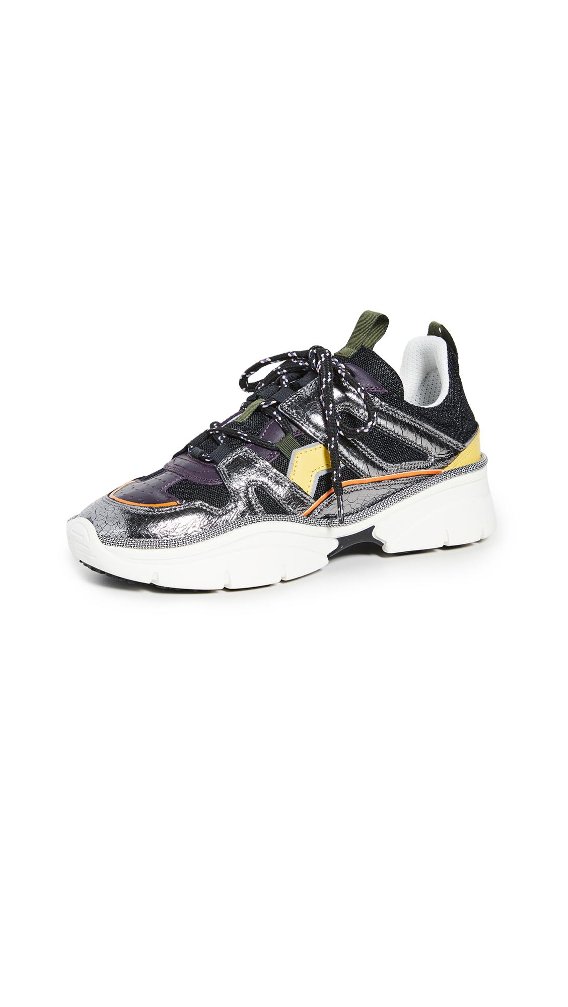 Buy Isabel Marant Kindsay Mesh Story Sneakers online, shop Isabel Marant