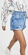 Isabel Marant 纸袋风格短裤