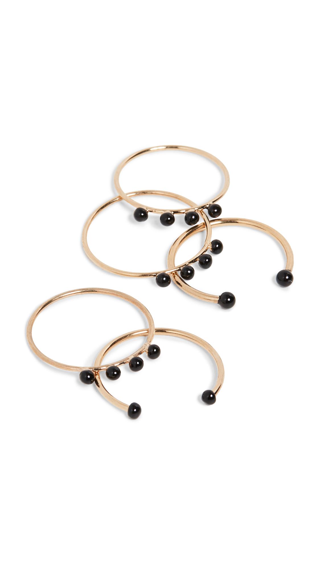 Isabel Marant Casablanca Stackable Ring Set