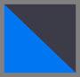蓝色/褪色黑色