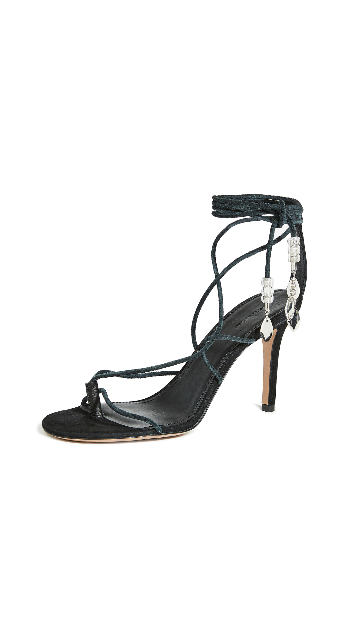 Isabel Marant Askee High Heeled Strappy Sandals - 40% Off Sale