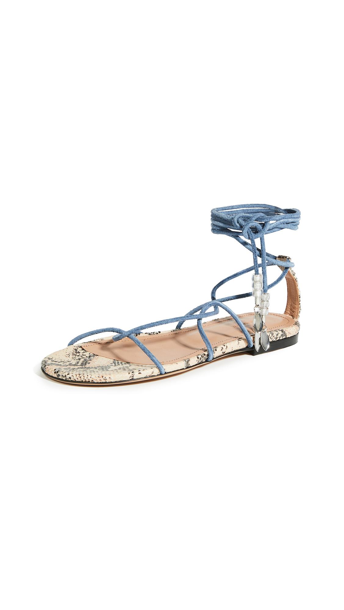 Isabel Marant Jindia Flat Strappy Sandals - 40% Off Sale