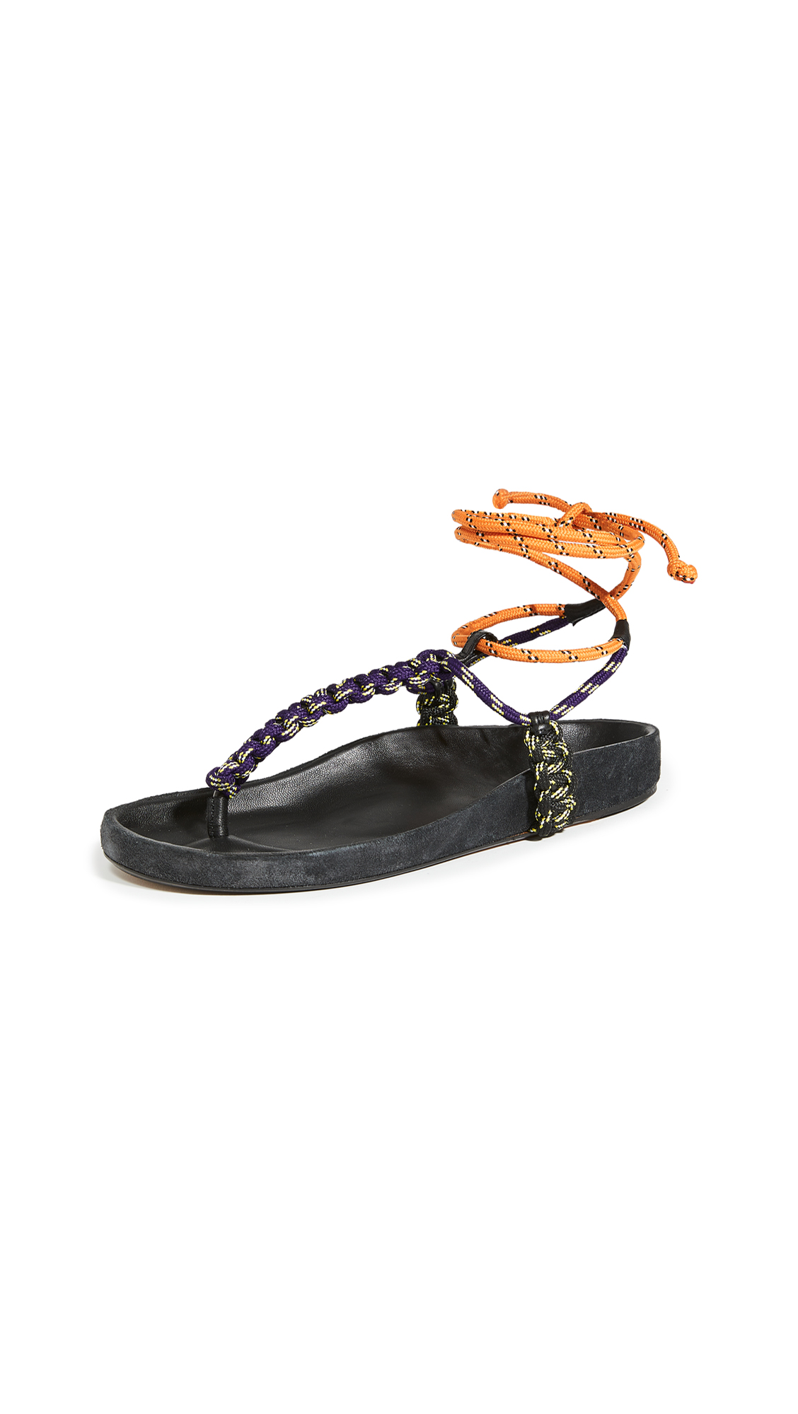 Isabel Marant Loreco Flat Thong Technic Sandals - 40% Off Sale