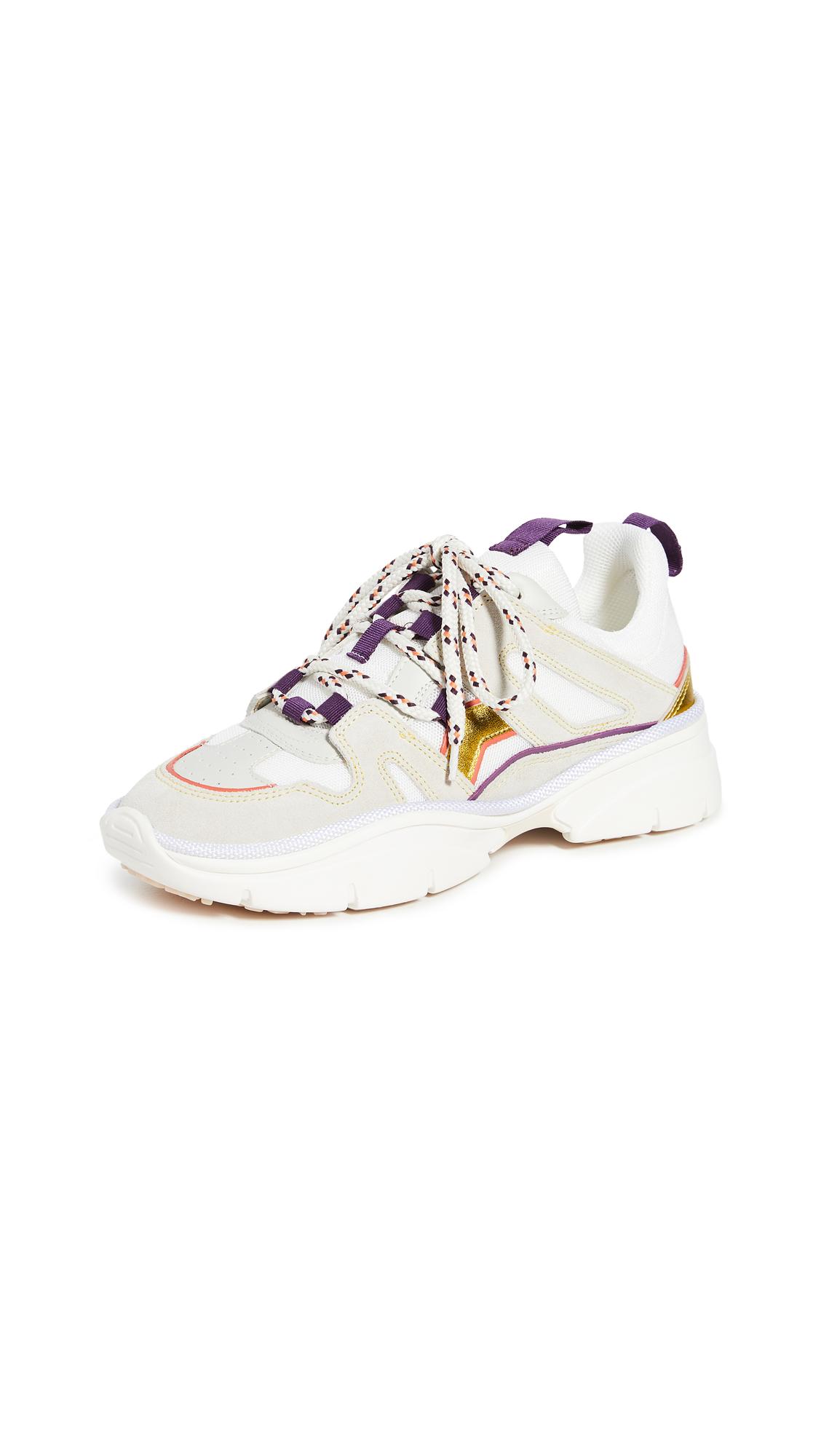 Isabel Marant Flashy Kindsay Running Sneakers - 40% Off Sale