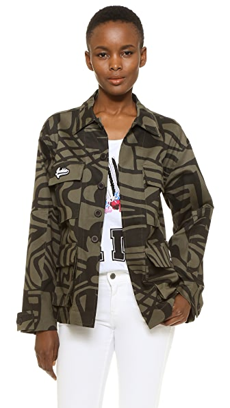 Isolda Army Jacket