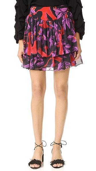 Isolda JoJo Skirt In Black Guara