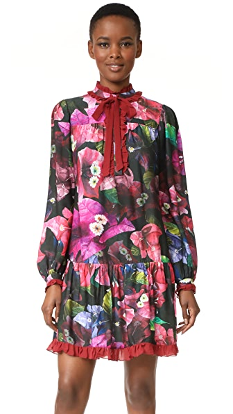 Isolda Lane Dress - Bougainvillea